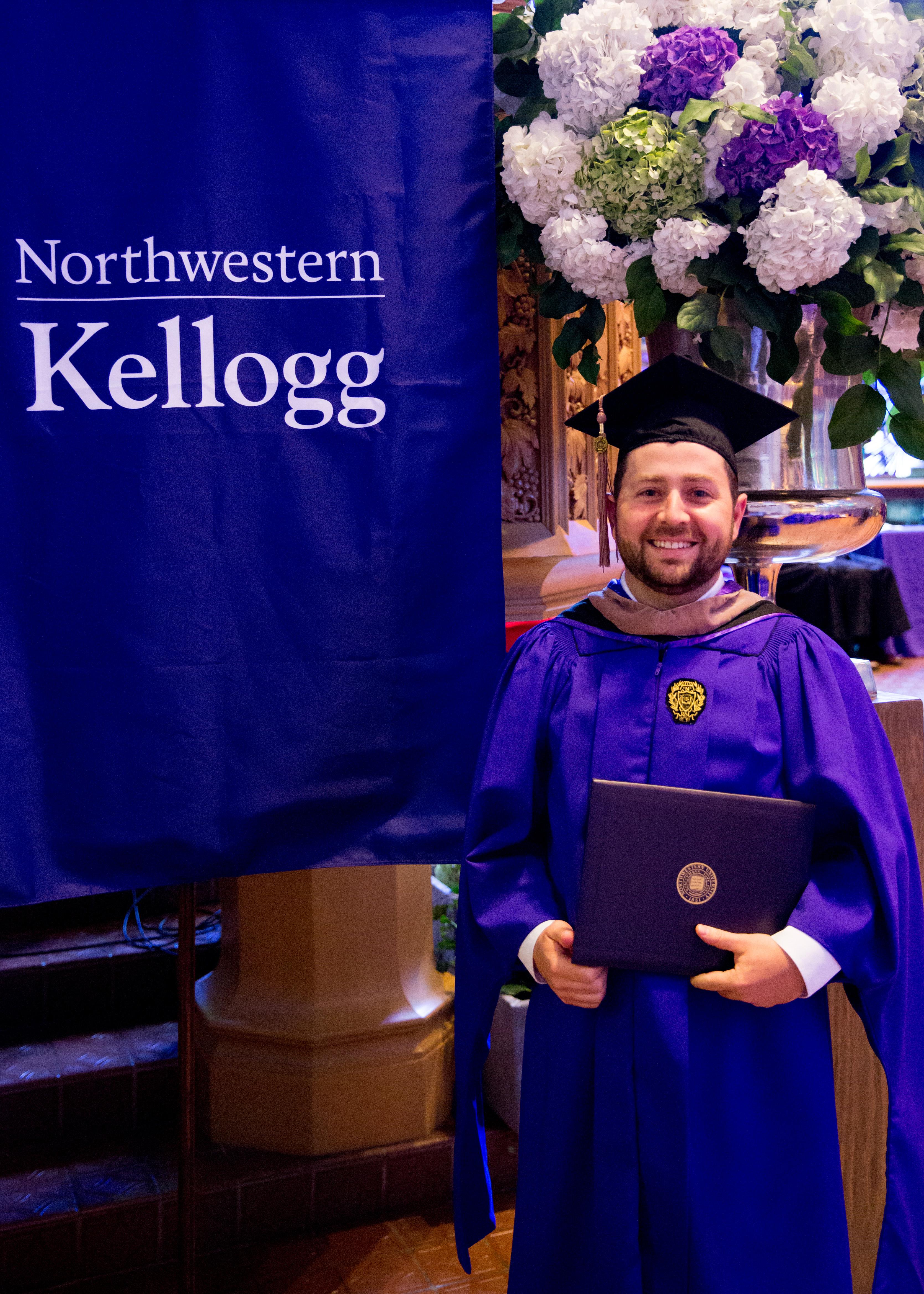 Brian Breslin MBA Graduation